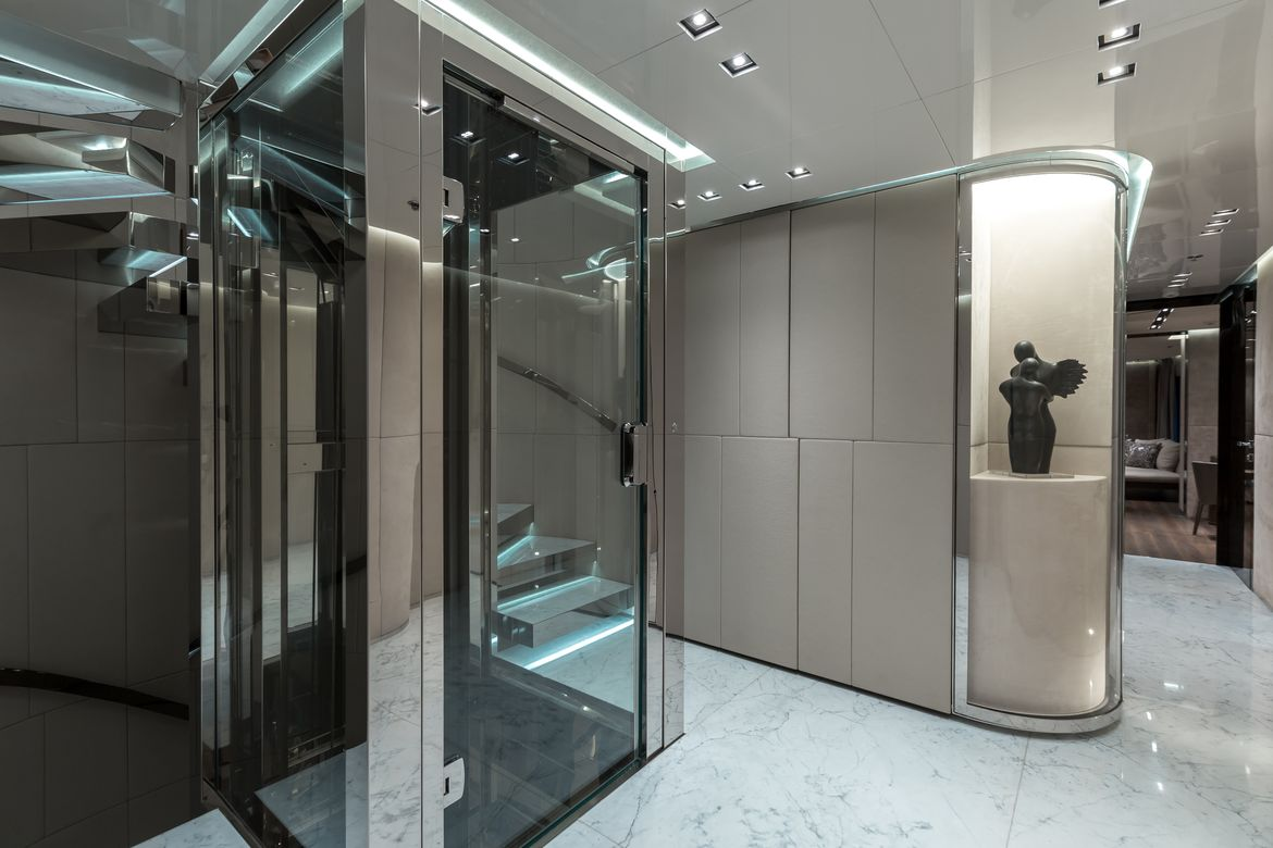 Lift And Foyer