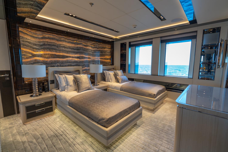 Lower Deck Guest Twin Cabin