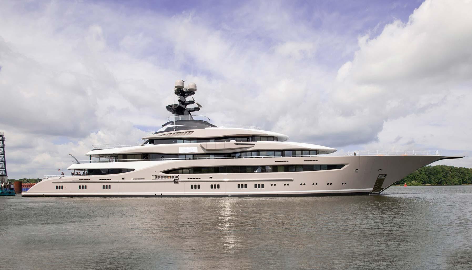 Luxury Motor Yacht -