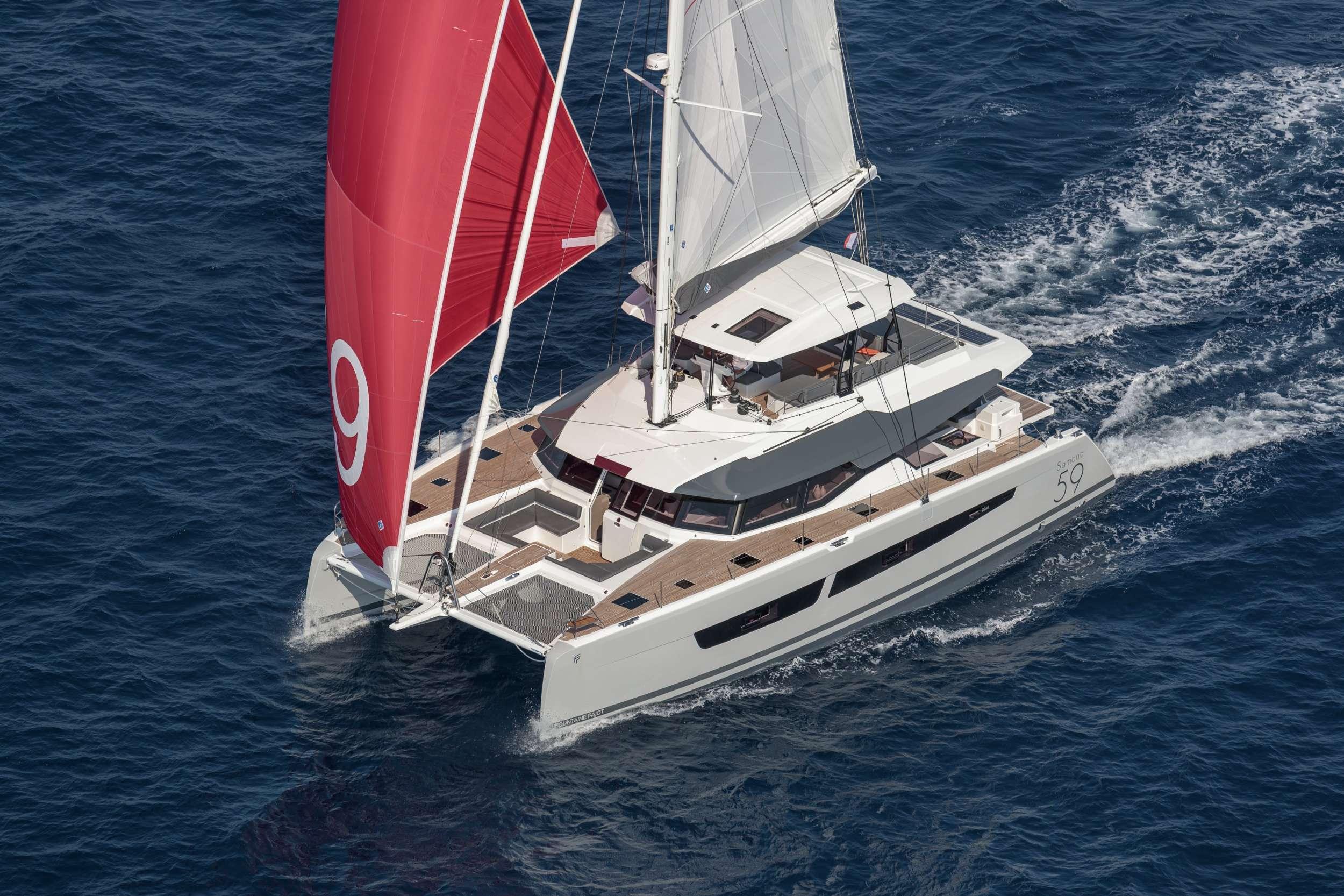 Luxury Catamaran NAMASTE