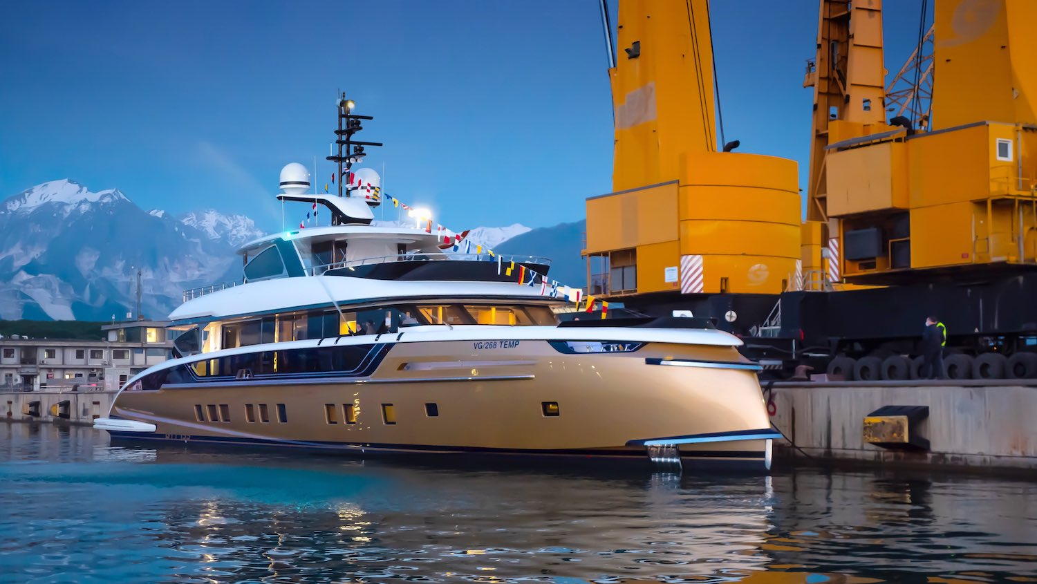 Luxury Yacht Stefania Launched
