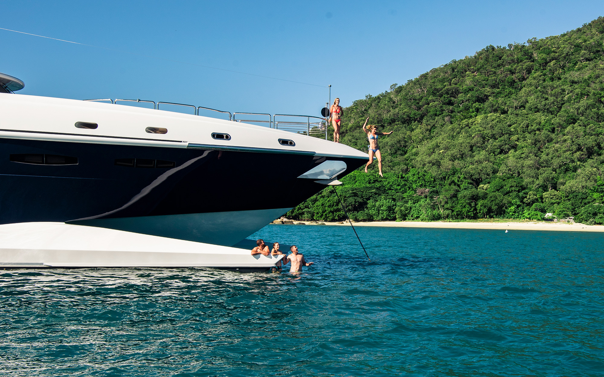 Spirit yacht charter details new zealand yachts for By the cabin catamaran charters