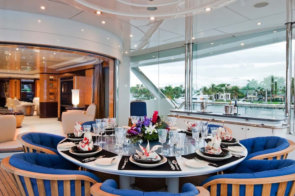 Master Stateroom Private Dining