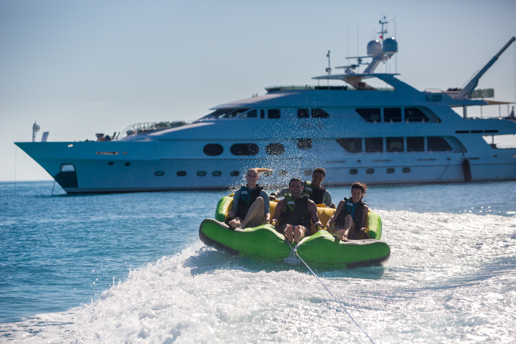 Motor Yacht LADY JOY By Christensen - Enjoying The Water Toys