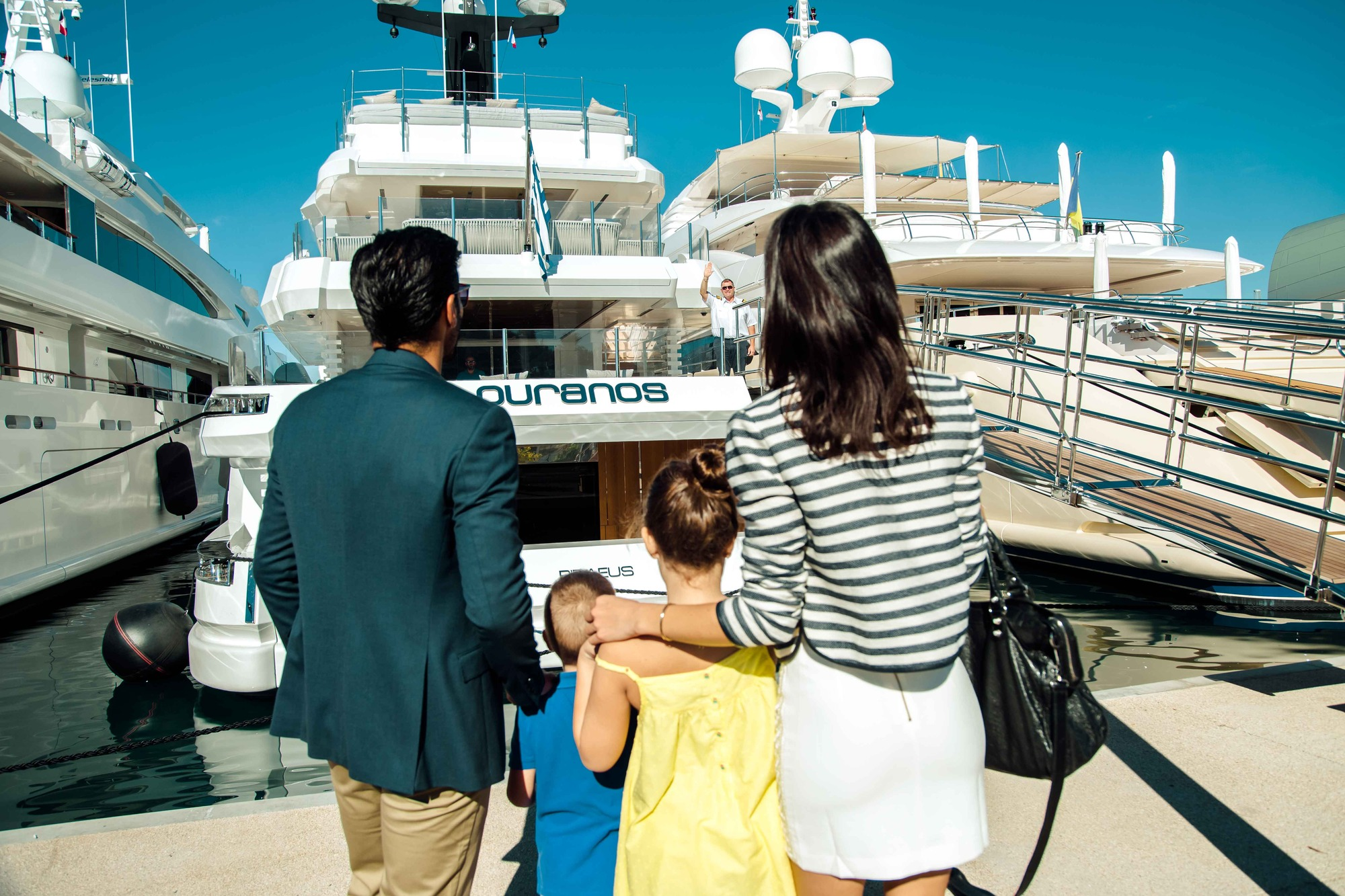 Motor Yacht OURANOS Arrival By Admiral Yachts