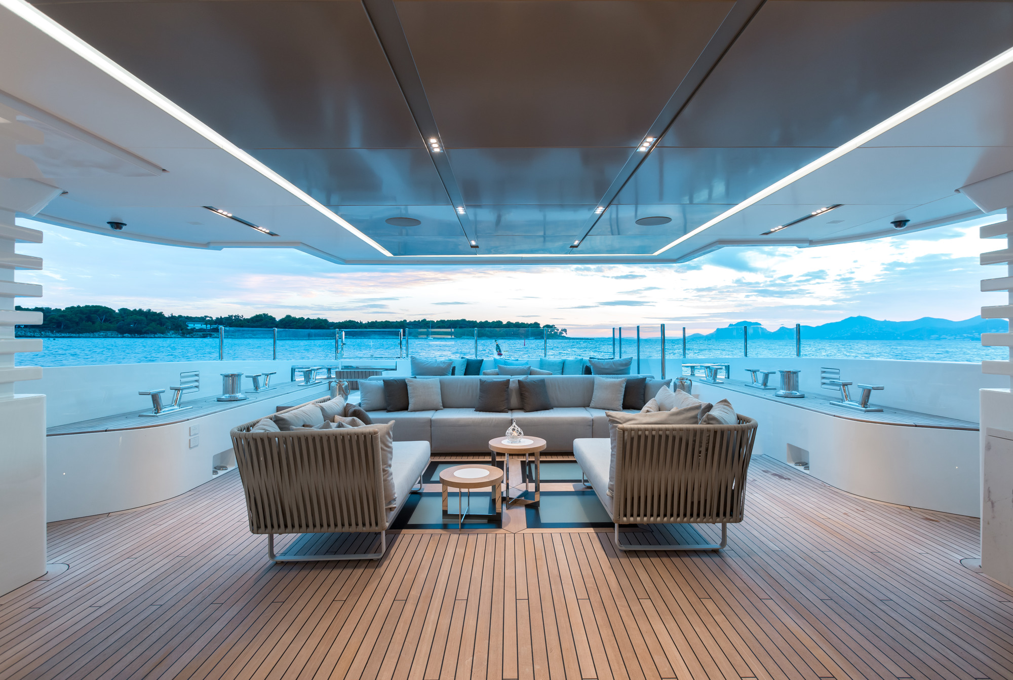 Motor Yacht OURANOS By Admiral Yachts - Aft Deck