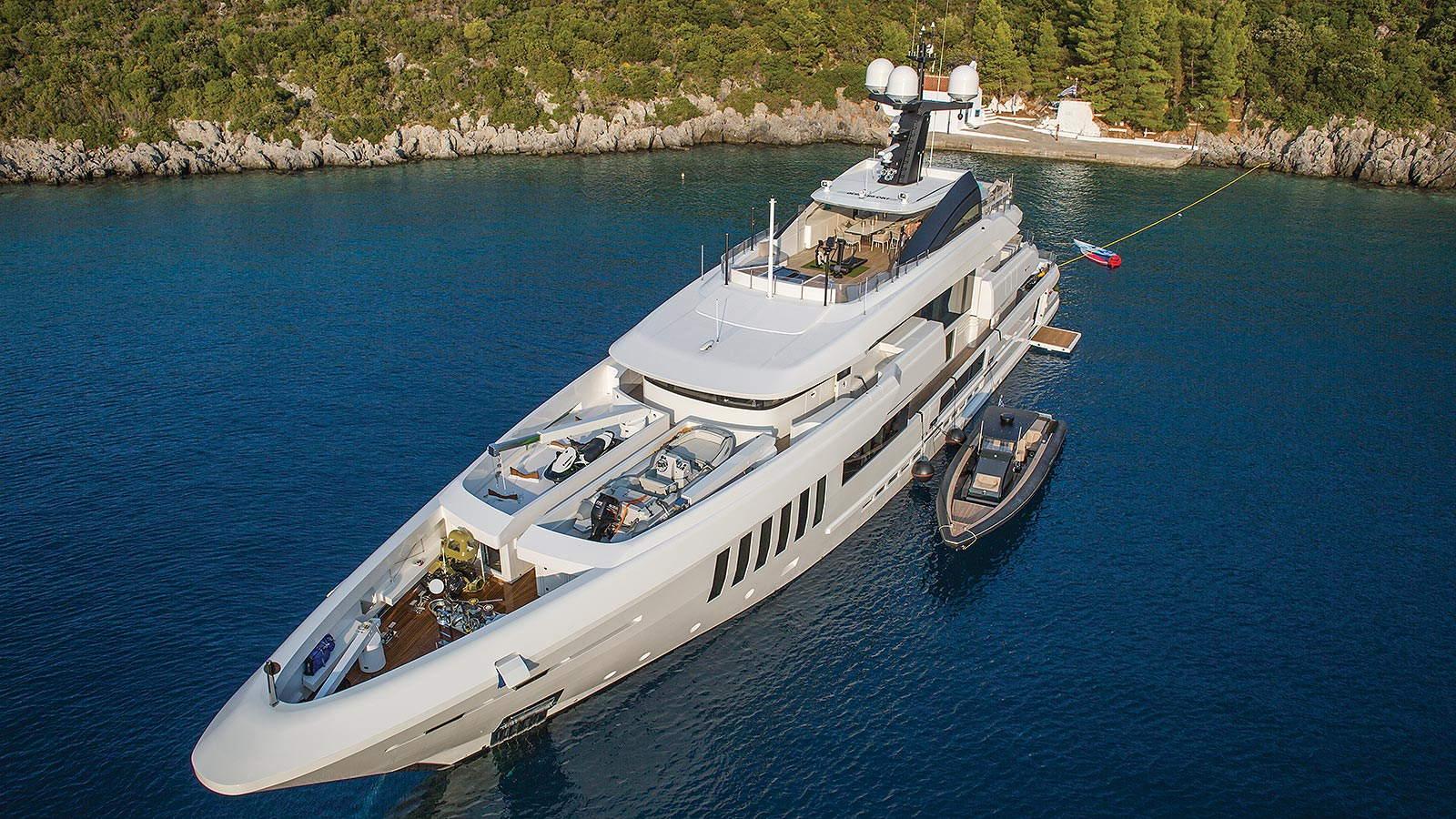 Motor Yacht OURANOS Moored By Admiral Yachts
