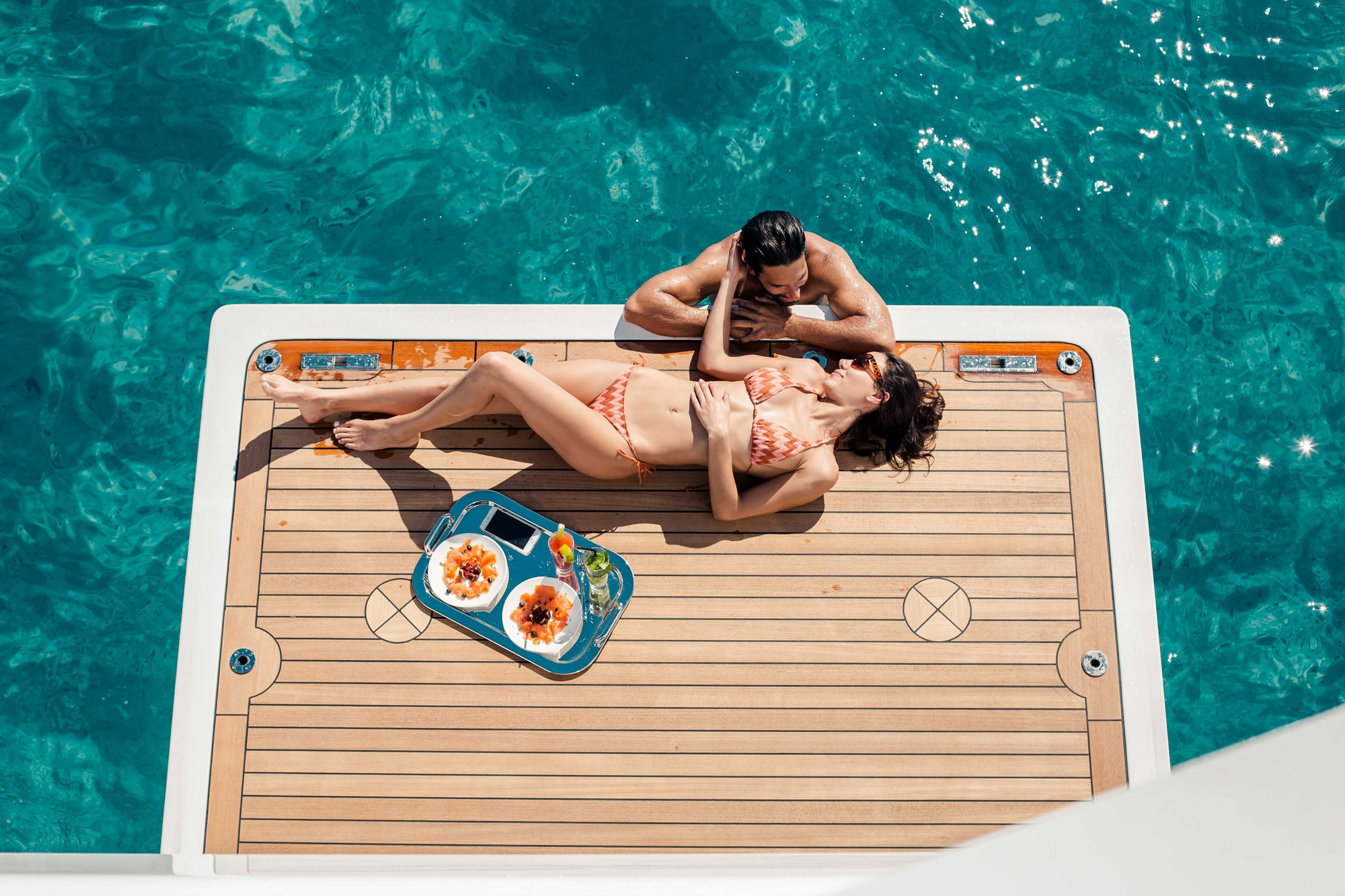 Motor Yacht OURANOS Swim Platform By Admiral Yachts