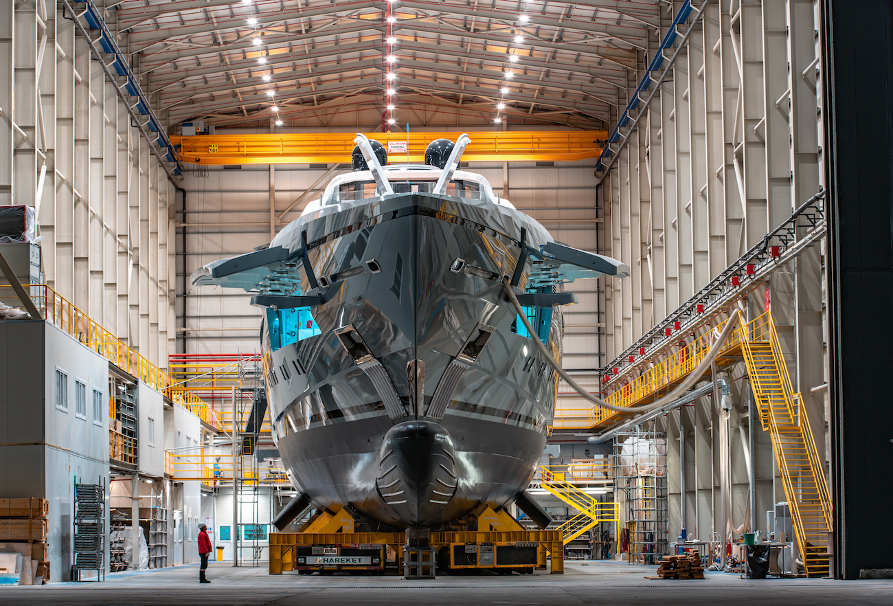 Motor Yacht TATIANA To Be Launched