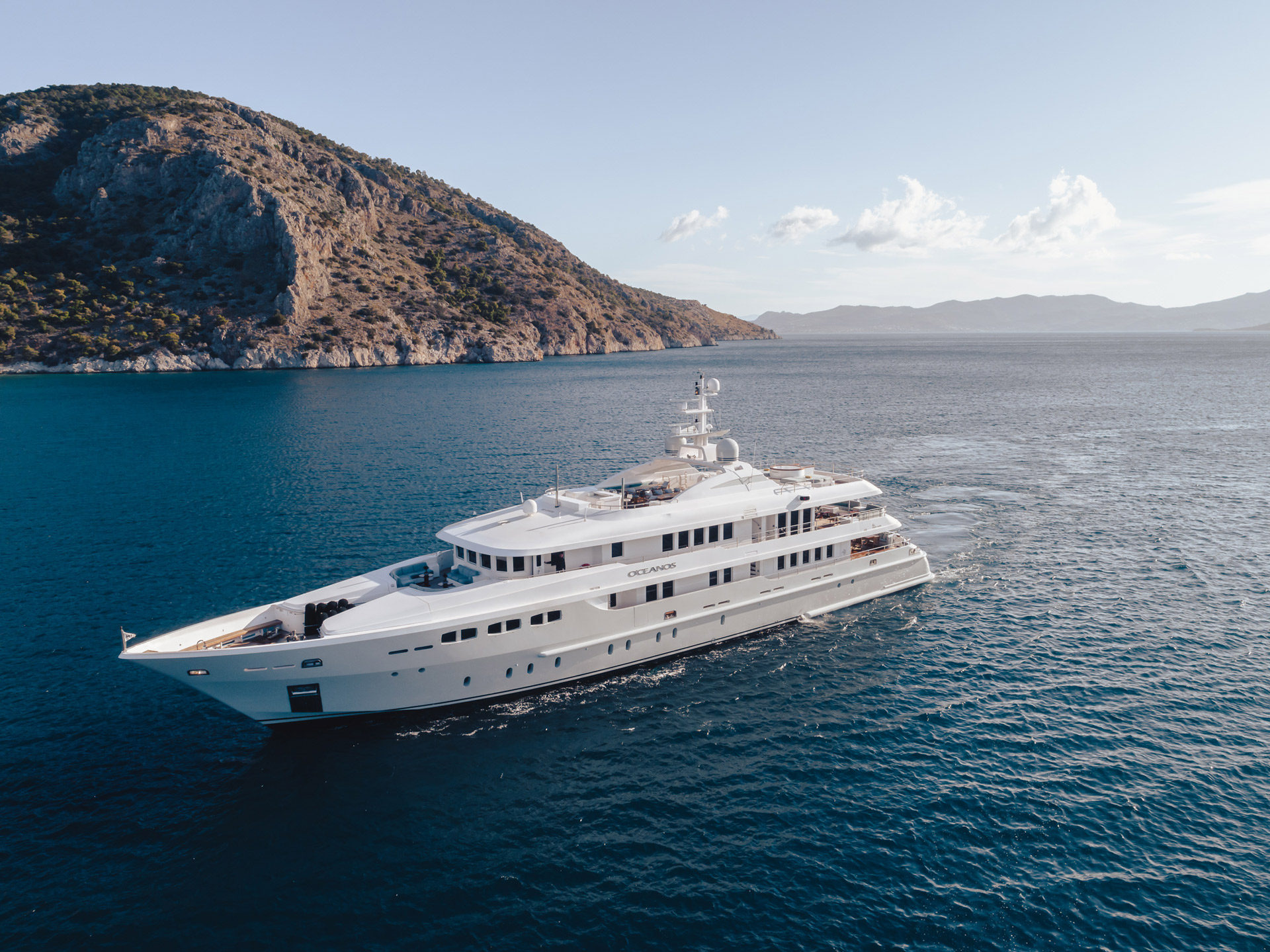 O'CEANOS Superyacht For Charter