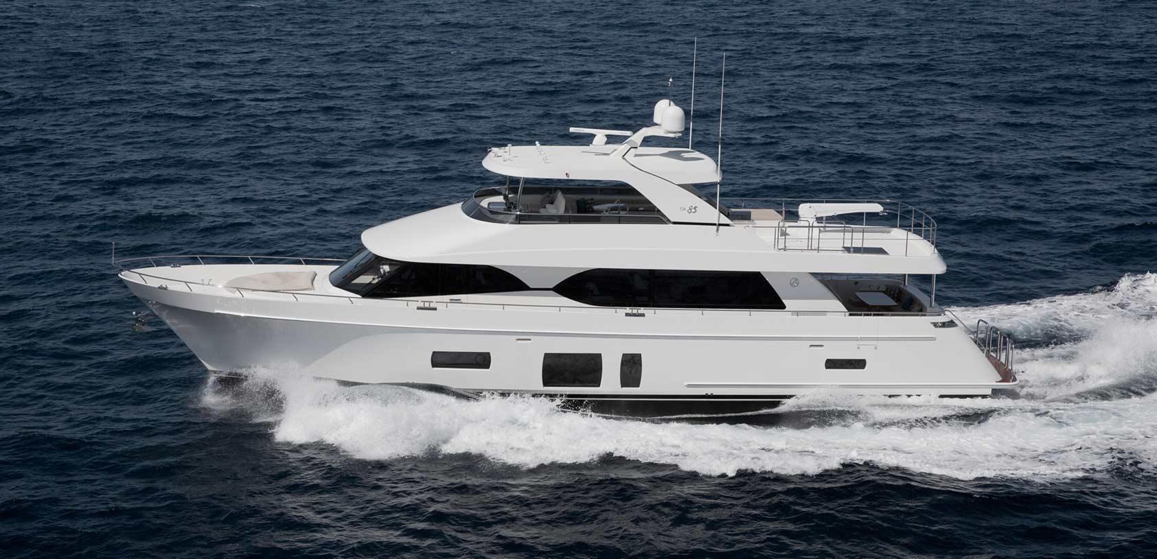 Ocean Alexander Yacht Profile