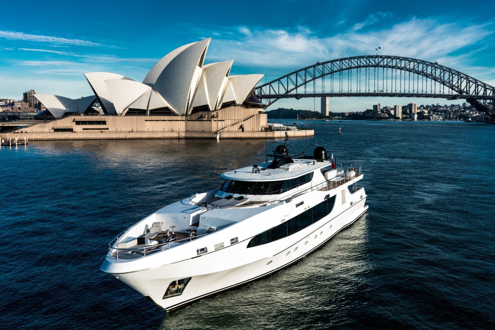 Sahana Yacht Charter Details Oceanfast Luxury Motor Yacht