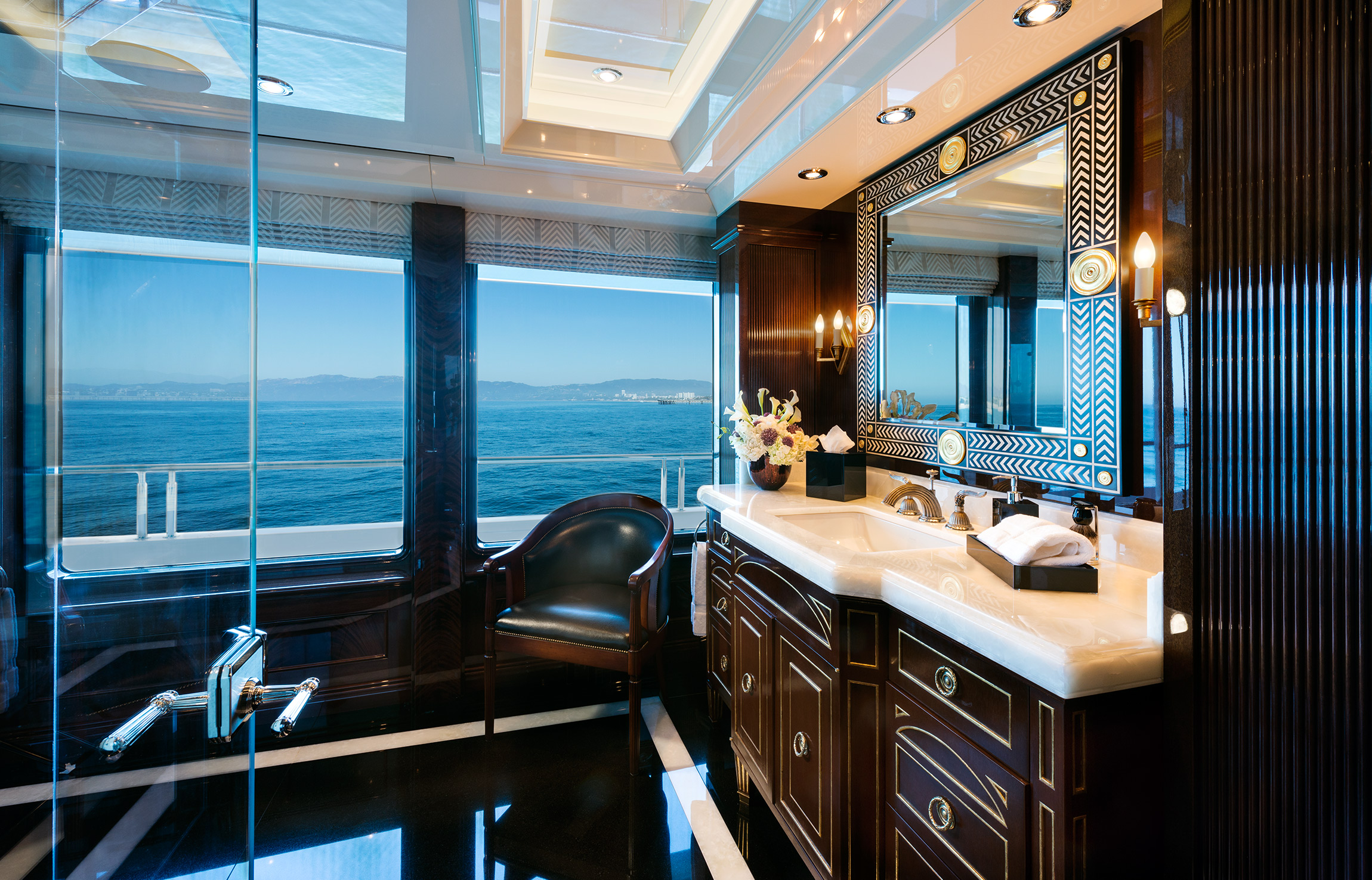 Owner Bathroom - His