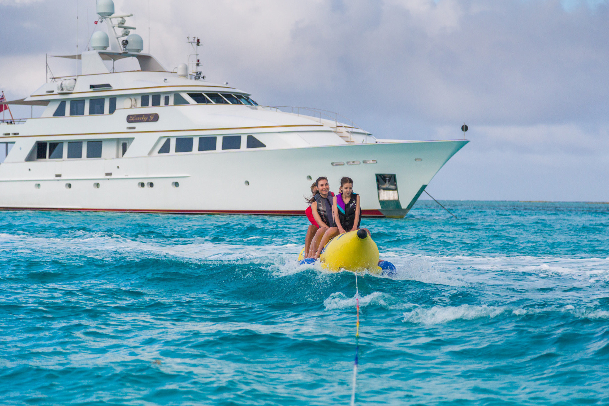 Palmer Johnson Motor Yacht LADY J - With Water Toys