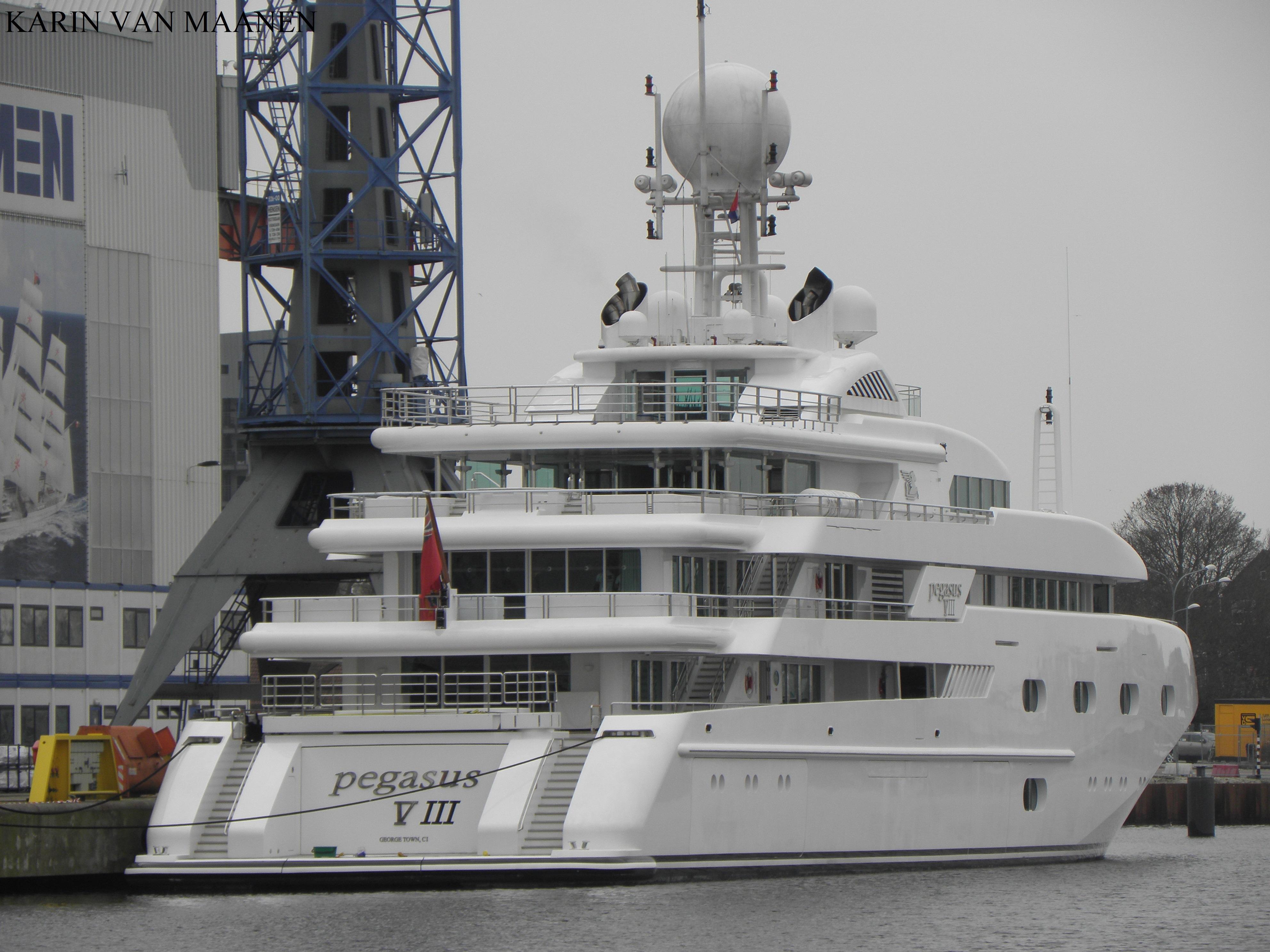 Pegasus VIII - Vlissingen Harbour