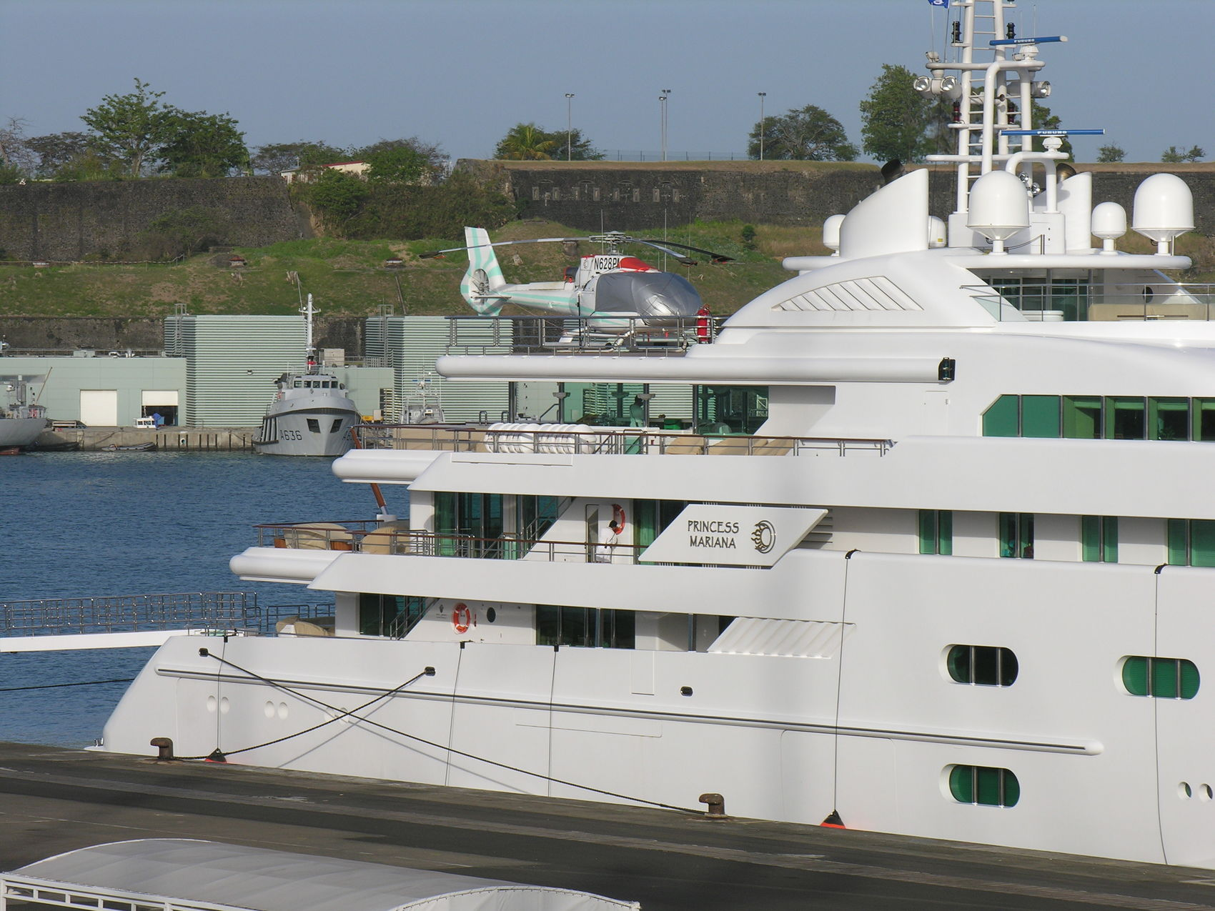 Pegasus VIII Aft Decks Starboard Profile