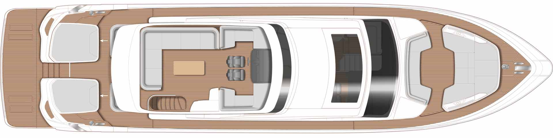 Princess S78 Layout Sportbridge