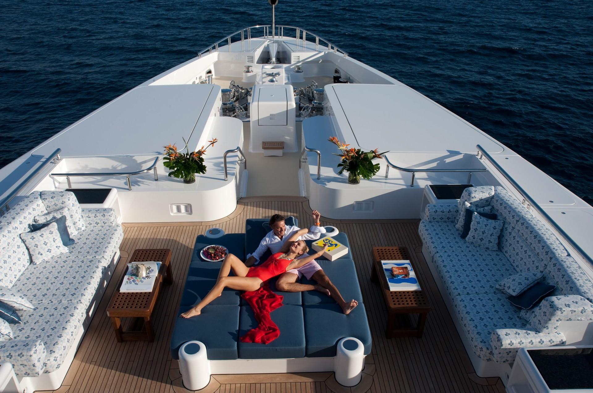 Relaxing Aboard