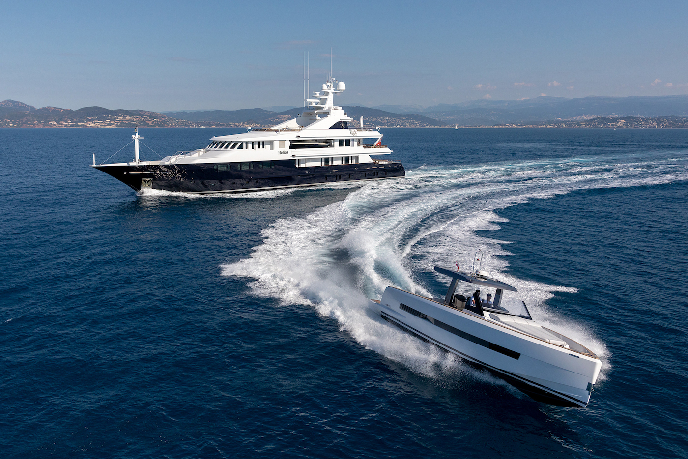 Running With Yacht Tender