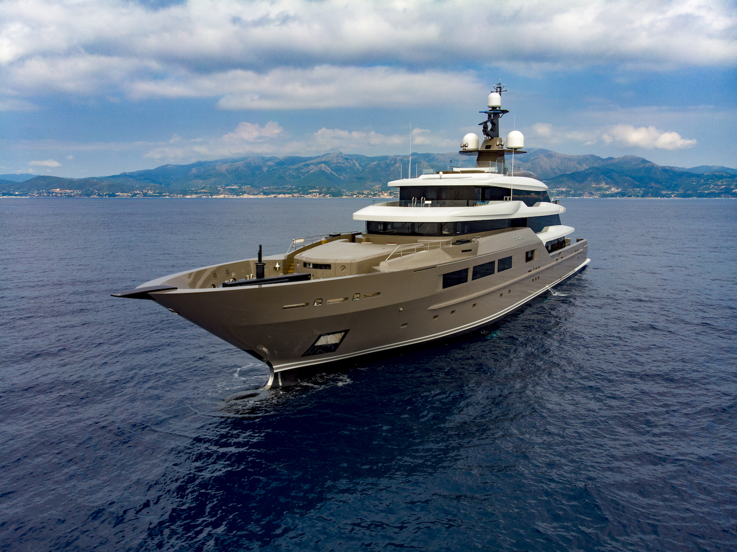 SOLO Superyacht In The Mediterranean