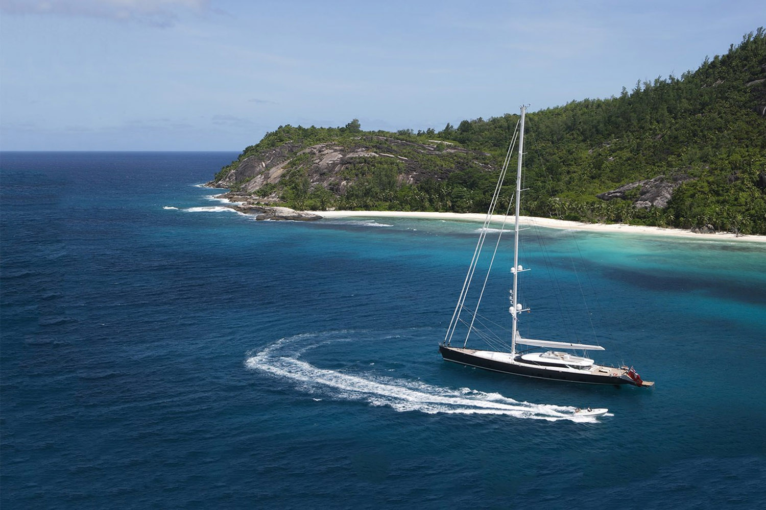 Sailing Yacht RED DRAGON By Dubois - Caribbean Fun