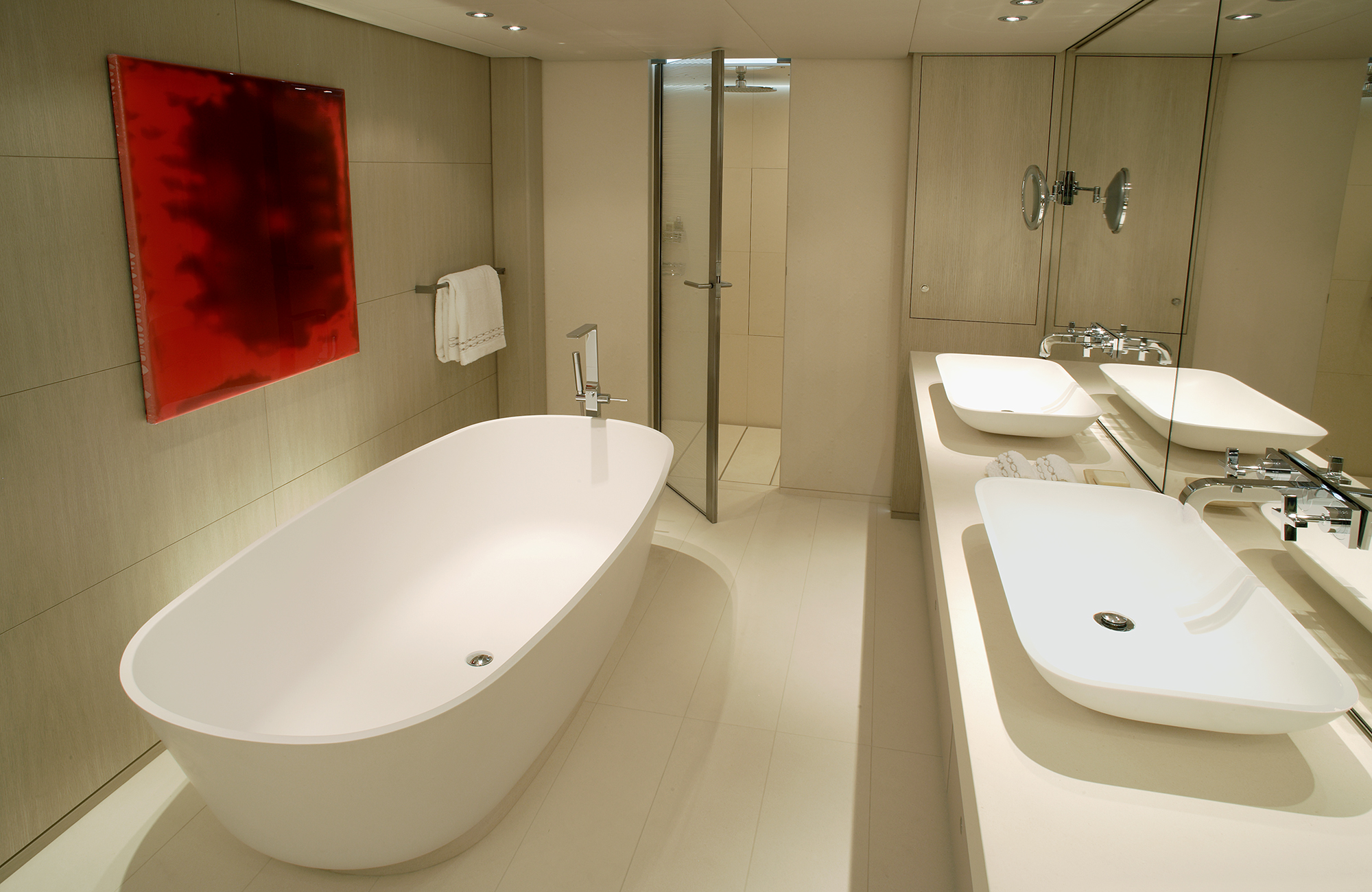 Sailing Yacht RED DRAGON By Dubois - Master Ensuite