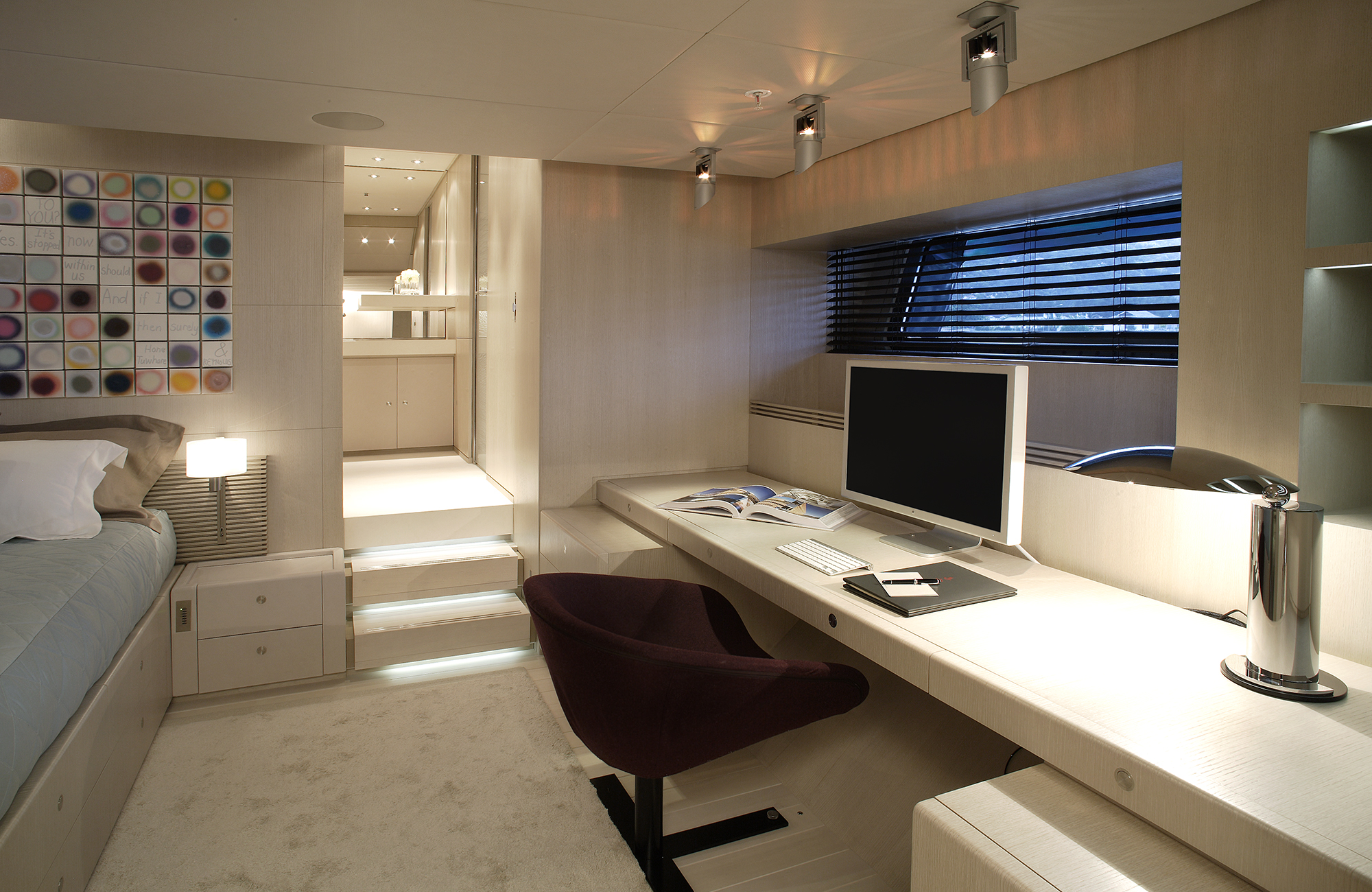 Sailing Yacht RED DRAGON By Dubois - Office