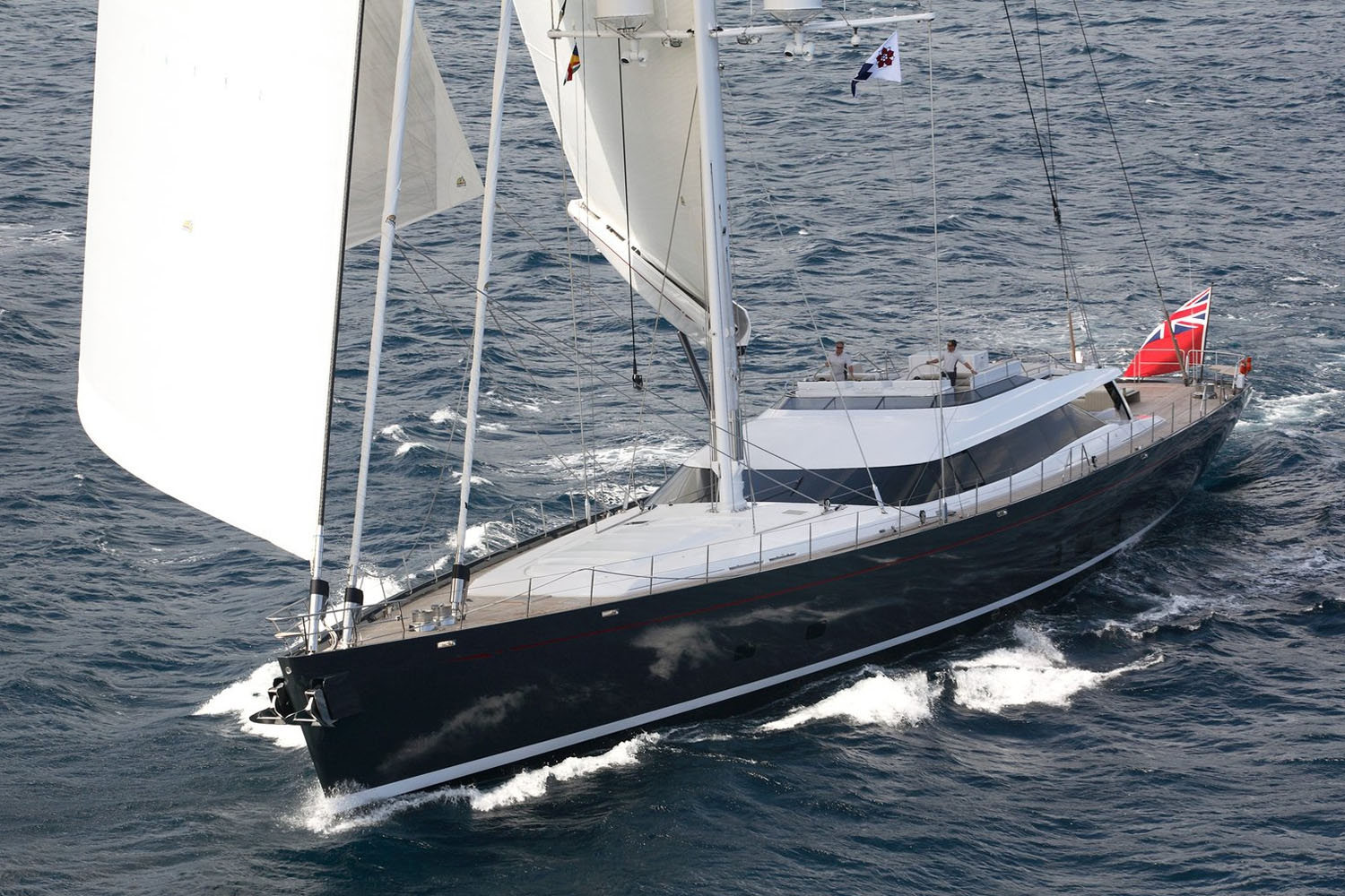 Sailing Yacht RED DRAGON By Dubois - Sailing