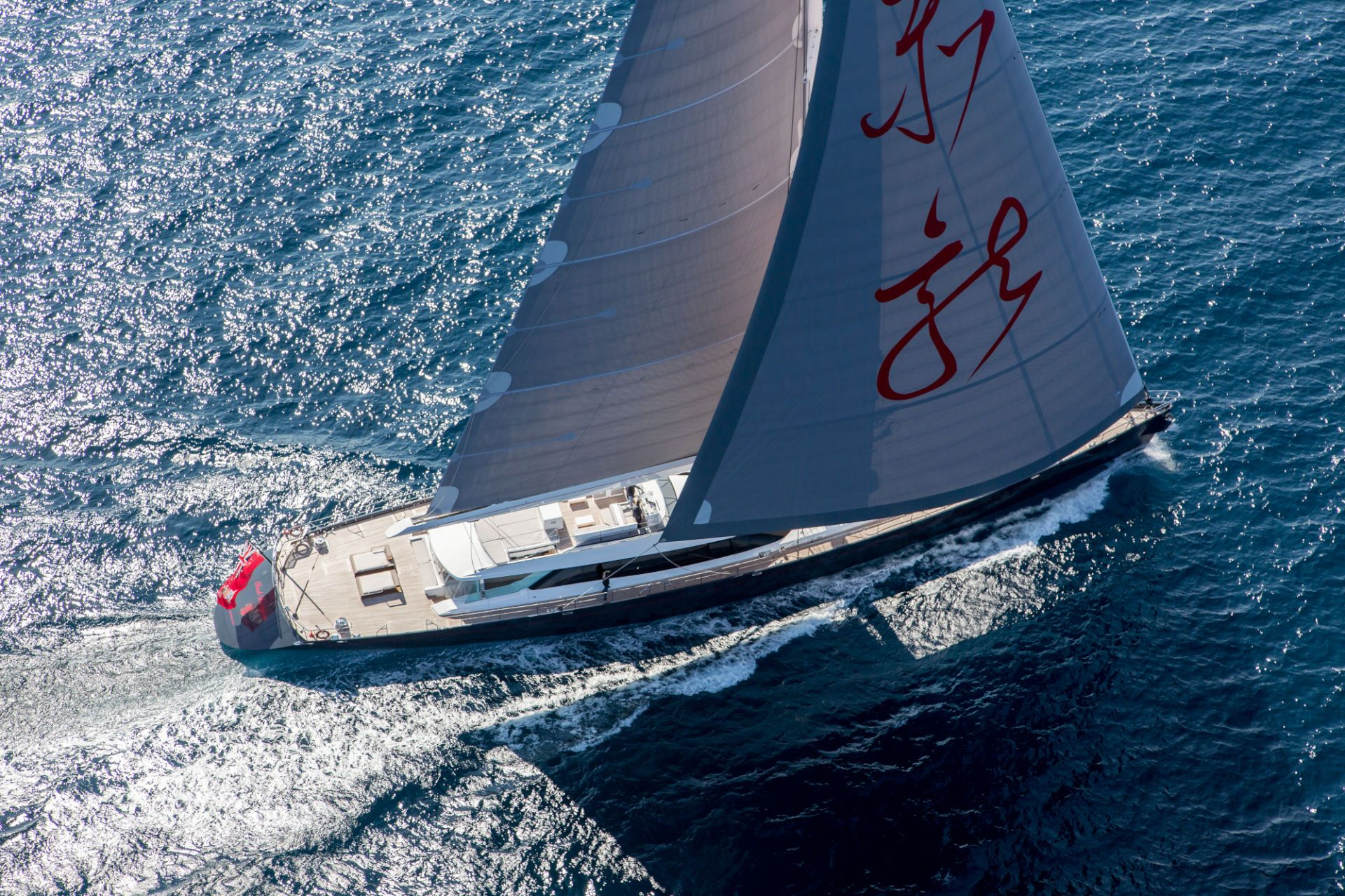 Sailing Yacht RED DRAGON By Dubois - Underway
