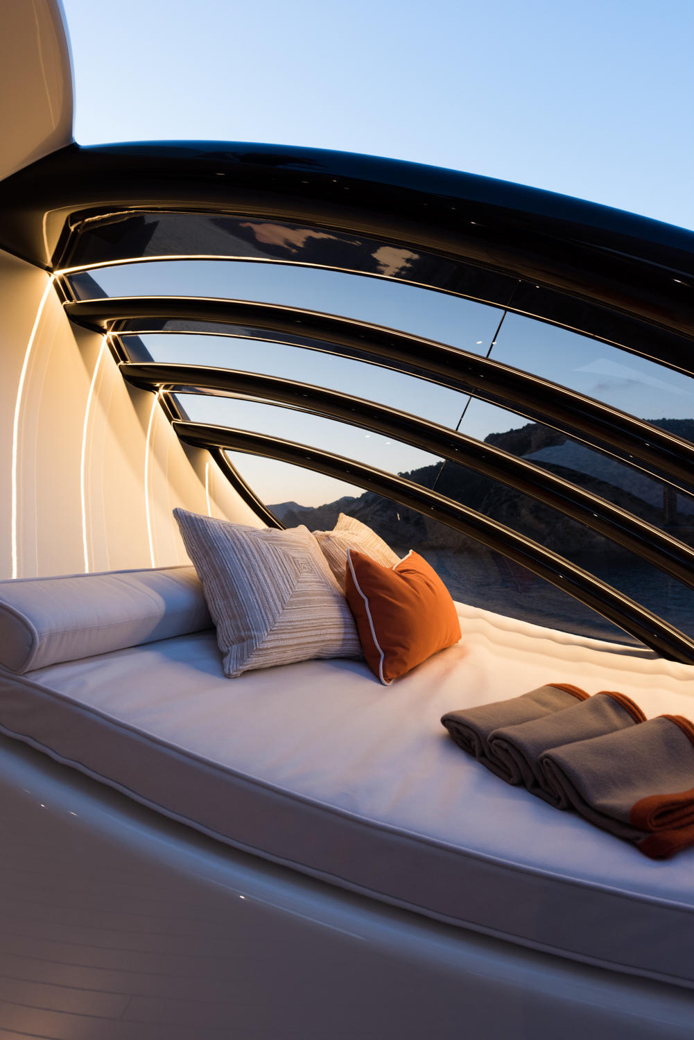 Seating Detail - Limited Edition 272 Amels Yacht - From EUR€ 1,200,000