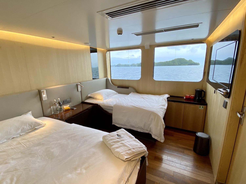 Second Floor Main Deck Cabin  Bedroom