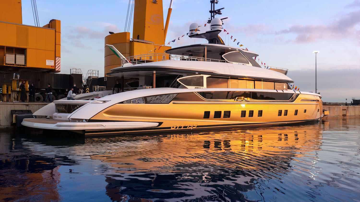 Stefania Yacht Launched
