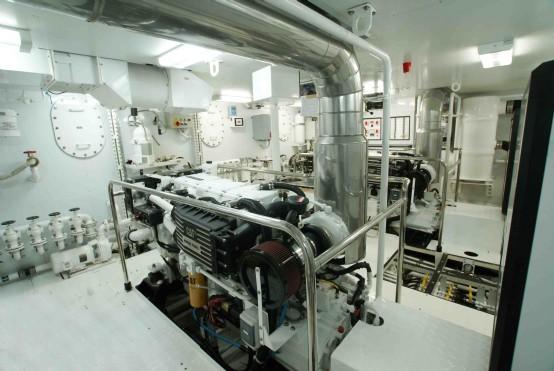 Sudami engine room