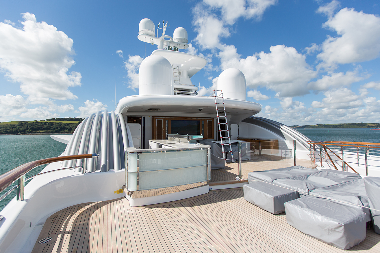Sun Deck Aft Post Refit
