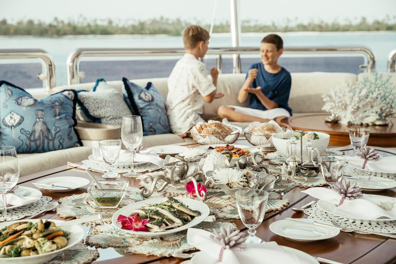 Sun Deck Family Dinner