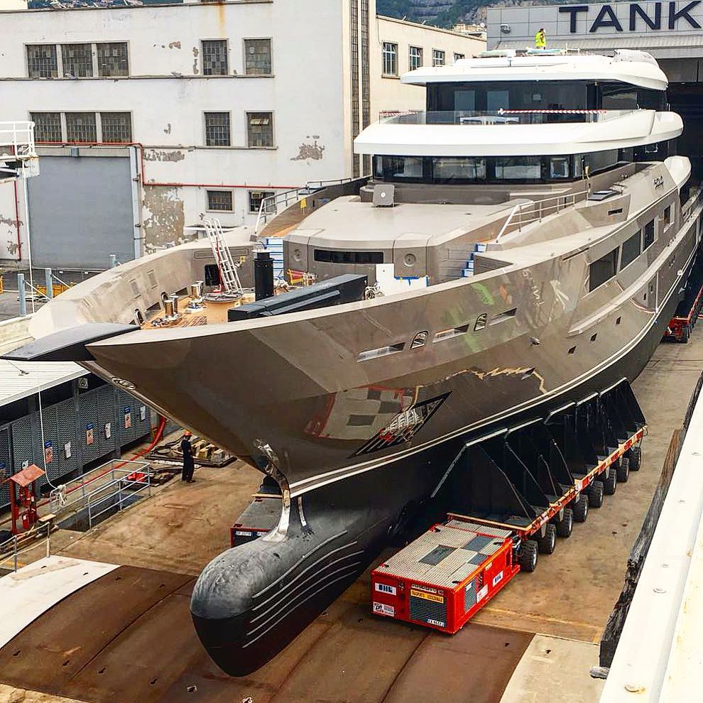 Tankoa Superyacht SOLO Emerges From The Shed