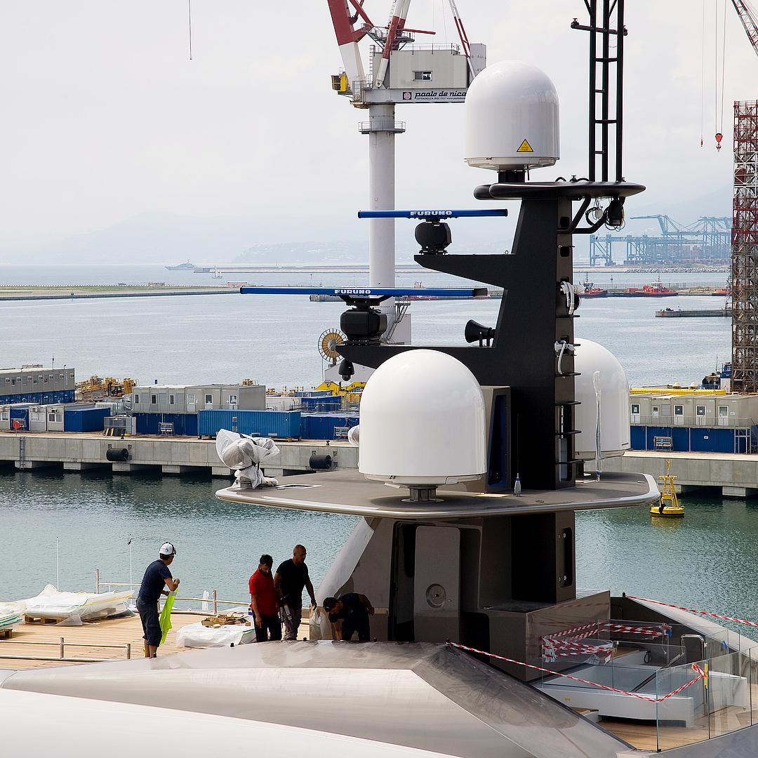 Tankoa Superyacht SOLO Mast