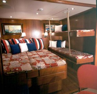Twin Cabin With A Bunk