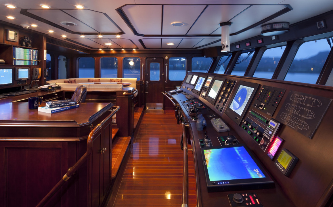 Wheelhouse Deck - Sky Bridge