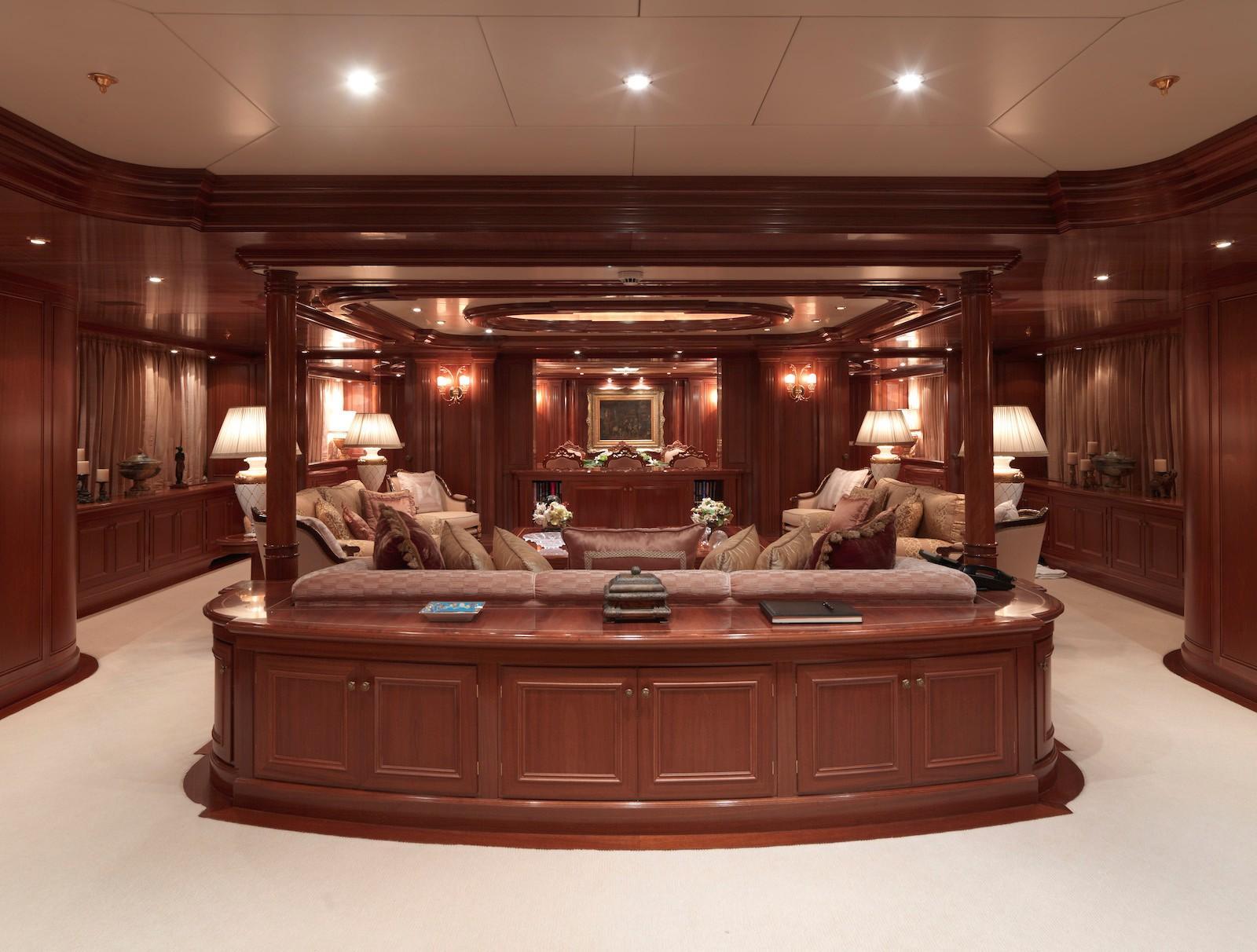 Yacht APOGEE - Interior
