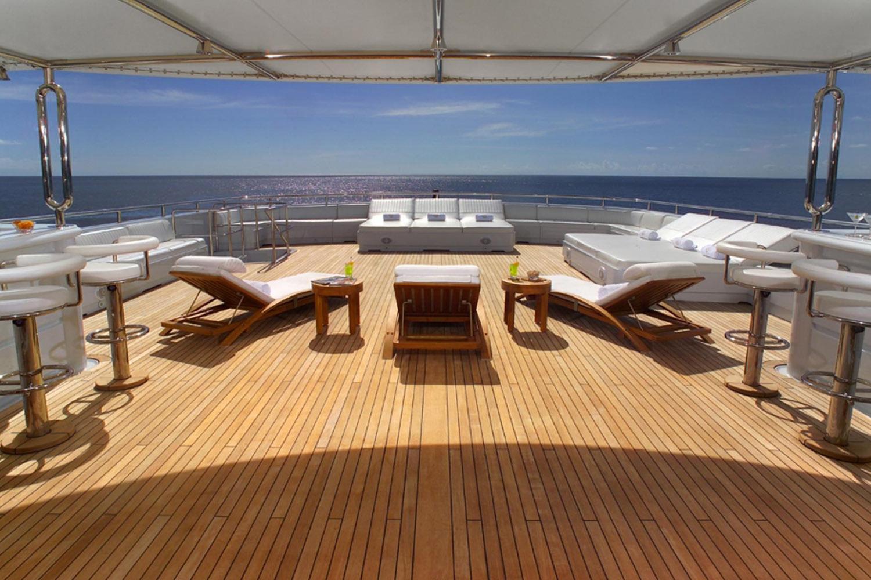 Yacht APOGEE - Sundeck
