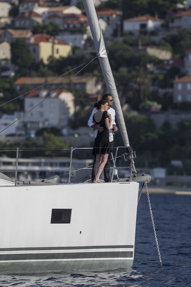 Yacht Amandine - Jeanneau 64 Couple