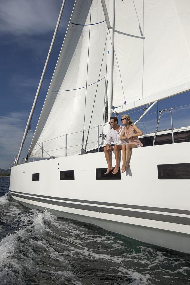 Yacht Amandine - Jeanneau 64 Sailing