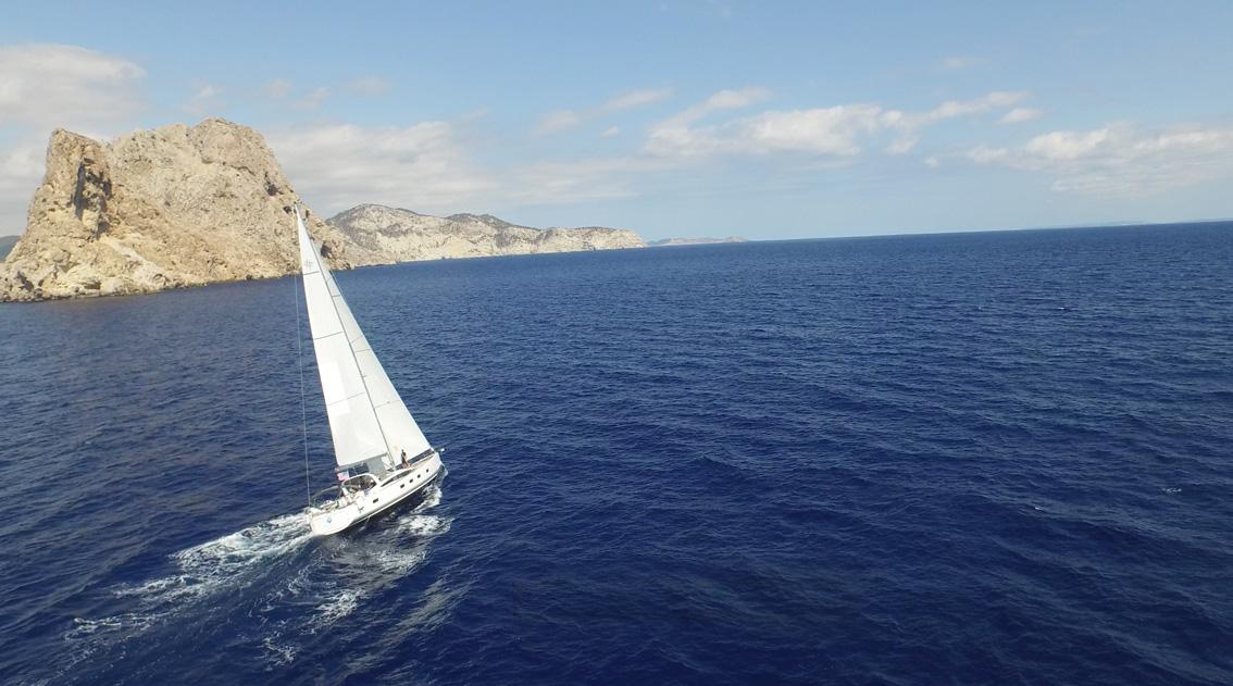 Yacht Amandine - Jeanneau 64 Sailing Mediterranean