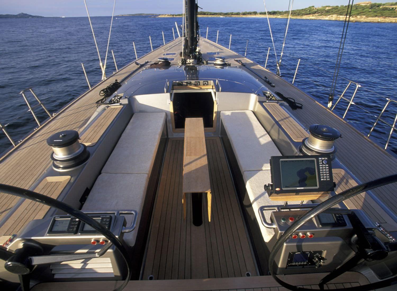 Yacht GALMA By Wally - Cockpit