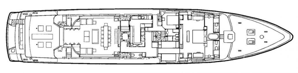Yacht MARIU - Main Deck