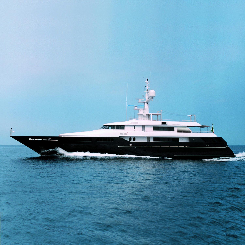 Yacht MARIU - Shortly After Launch