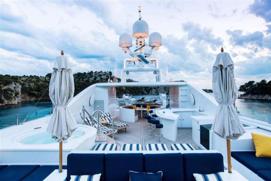Yacht Mustique By Trinity - Sundeck