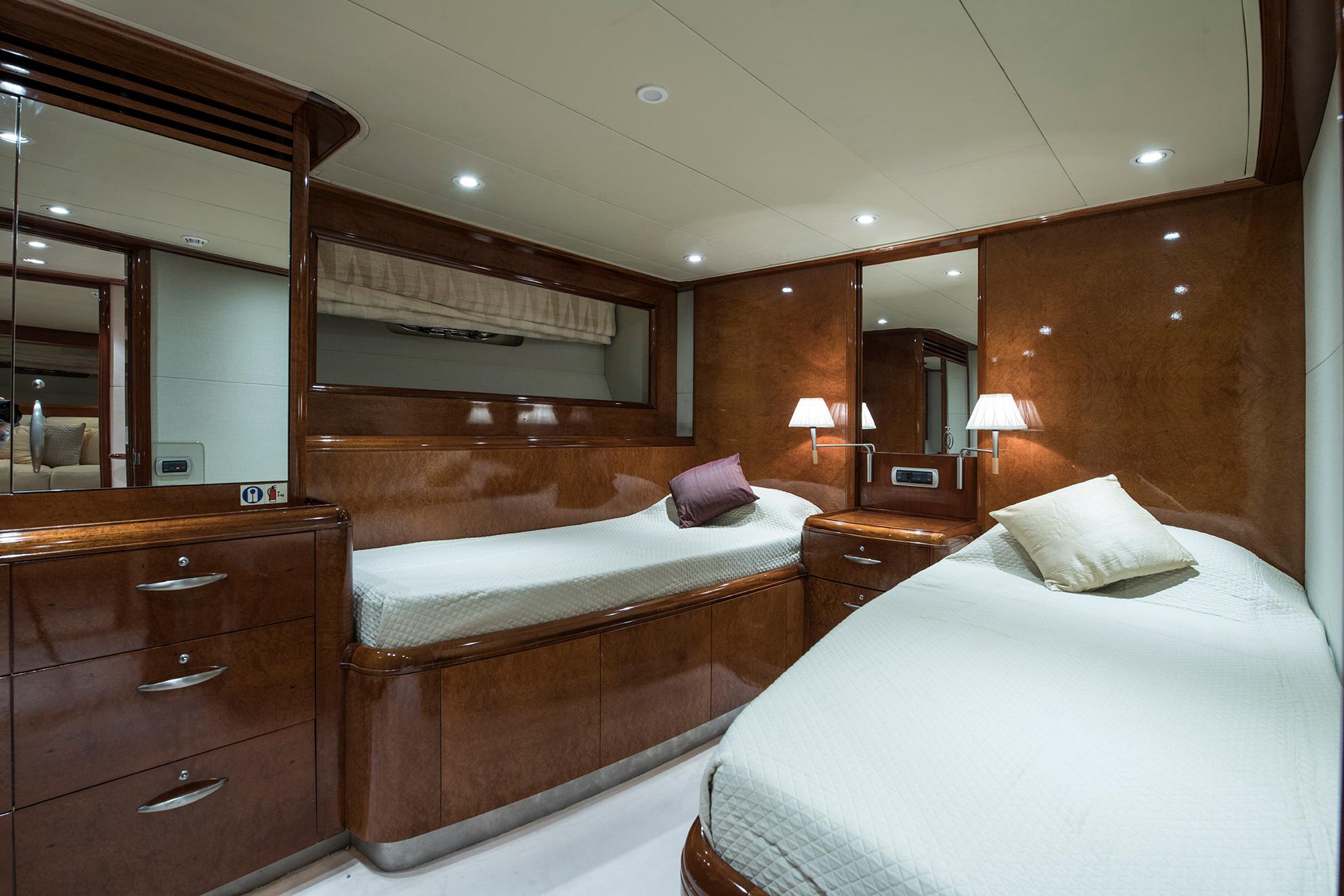 Yacht Nashira II - Twin Cabin