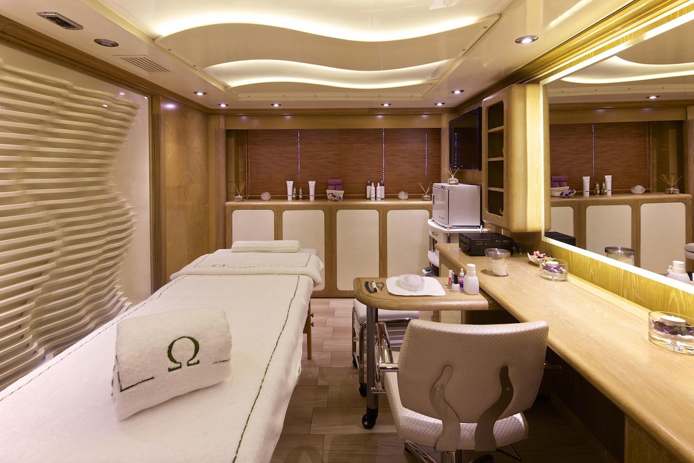 Yacht OMEGA - Wellness